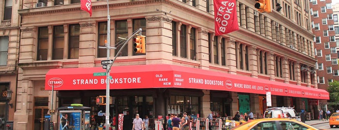 Strand Bookstore is one of Most Incredible Bookstores in the World.