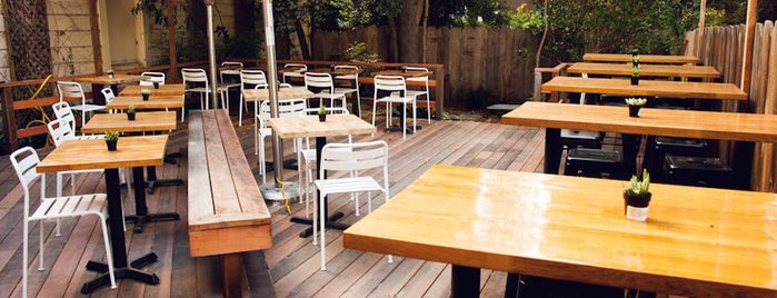 Sparrow Bar and Kitchen is one of Outdoor Bars: They Exist.