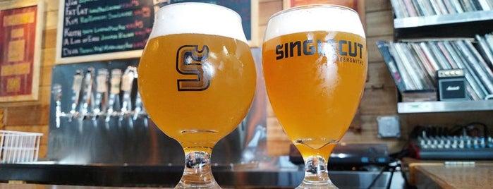SingleCut Beersmiths is one of Street View: Astoria.