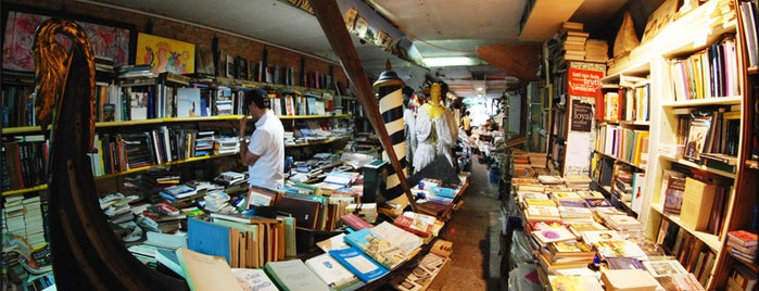 Libreria Acqua Alta is one of Most Incredible Bookstores in the World.