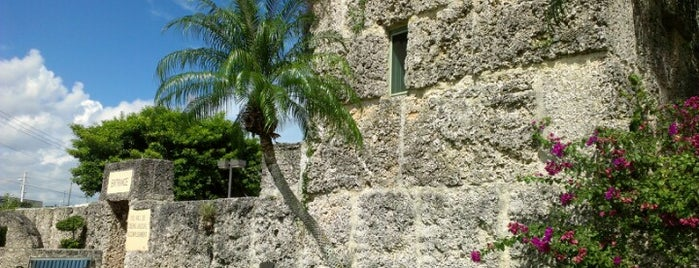 Coral Castle is one of Miami: history, culture, and outdoors.
