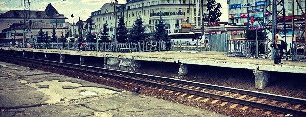 Ж/Д станция Сергиев Посад is one of Posti che sono piaciuti a Jano.