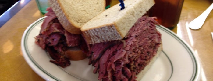 Famous 4th Street Delicatessen is one of Philly.