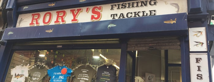 Rory's Fishing Shop is one of Dublin.