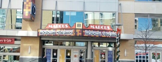 Marcus Midtown Cinema is one of Fav Places.