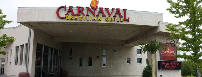 Carnaval Brazilian Grill is one of South Dakota - Once if by car 2017.