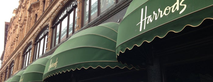 Harrods is one of London Town.