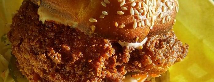 Cackalack's Hot Chicken Shack is one of Megan : понравившиеся места.