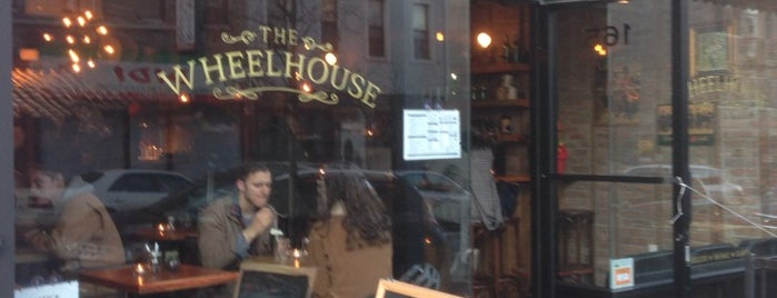The Wheelhouse is one of eat out.