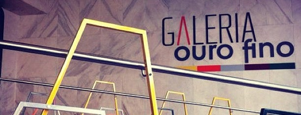 Galeria Ouro Fino is one of Galerias SP.