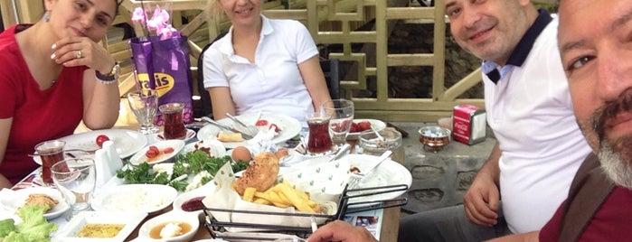 Dere Bahçe Restaurant is one of Tempat yang Disukai Fatih.