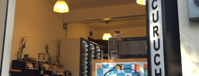 Cucurucho Café Condesa is one of Alejandro 님이 좋아한 장소.