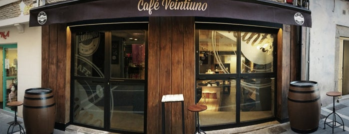 Café Veintiuno is one of Parada Obligatoria.