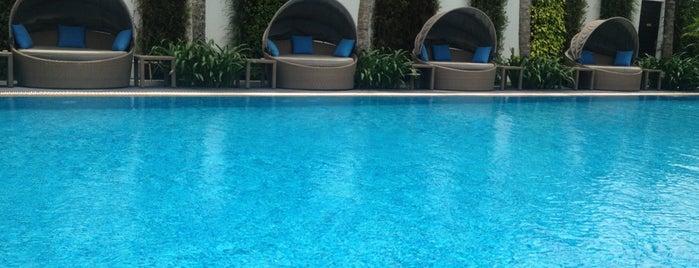Villa Song Pool is one of Orte, die Marcus gefallen.