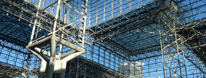 Jacob K. Javits Convention Center is one of Locais curtidos por Brian.