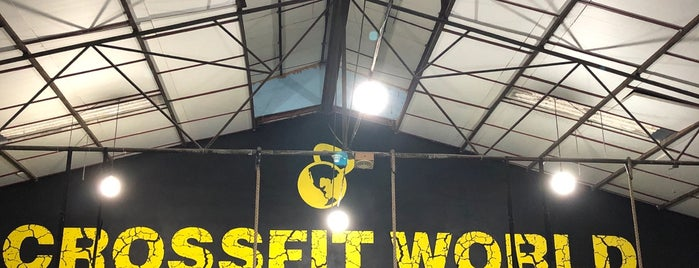 Crossfit World is one of Eduardo'nun Beğendiği Mekanlar.