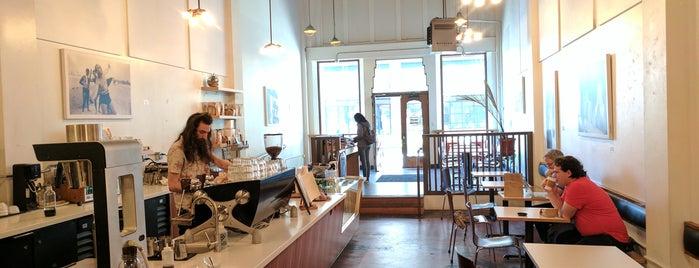 Slate Coffee is one of B's Seattle.