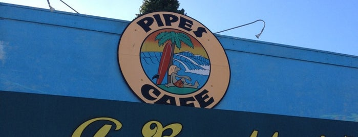 Pipes Cafe is one of San Diego.