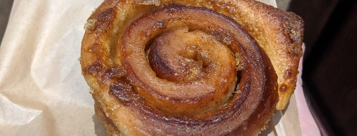 Saraghina Bakery is one of Best Cinnamon Rolls in NYC.