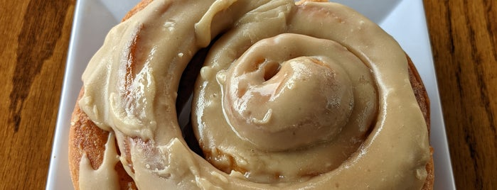 The Way Cafe is one of Best Cinnamon Rolls in NYC.
