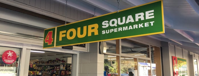 Four Square is one of Orte, die Alan gefallen.