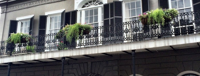 Madame Lalaurie's Mansion at 1140 Royal St is one of Paranormal Sights.