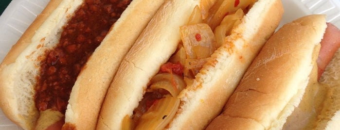 Hank's Franks is one of INSAHD! Been There, Done That (NJ).