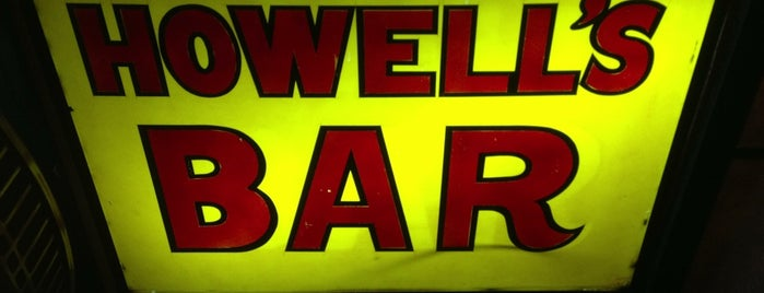 Howell's Bar is one of Motown.