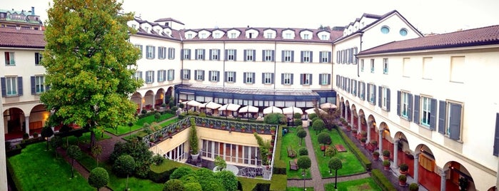 Four Seasons Hotel Milano is one of Gespeicherte Orte von Marcel.