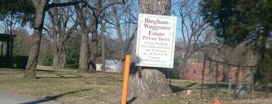Bingham-Waggoner Estate is one of Kansas City.
