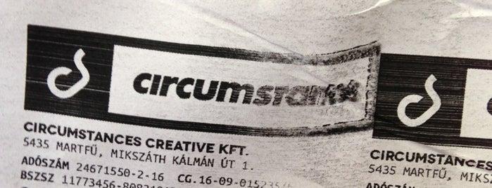 Circumstances Creative Co. is one of Andras'ın Beğendiği Mekanlar.
