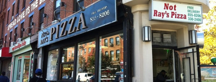Not Ray's Pizza is one of Brooklyn-Bound.