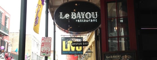 Le Bayou Restaurant is one of New Orleans.