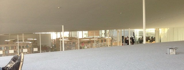 Rolex Learning Center is one of 建築マップ ヨーロッパ.
