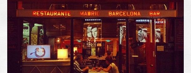 Madrid-Barcelona is one of Restaurantes para dejarse ver.