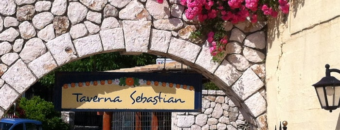 Sebastian's Taverna is one of TryCorfu.
