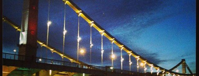 Krymsky Bridge is one of Москва.