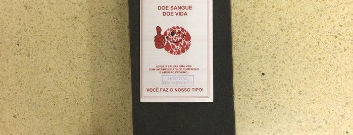 Hemocentro Santa Casa de São Paulo is one of Farmácias/Hospitais.