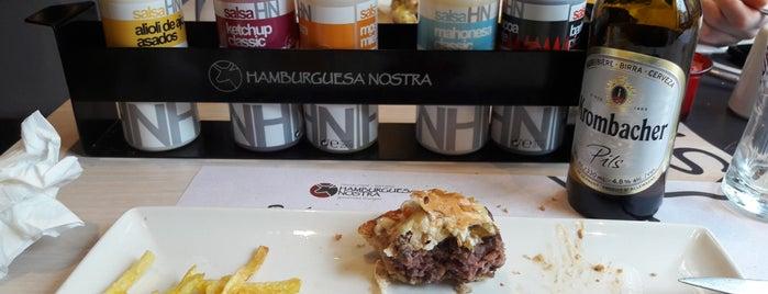 Hamburguesa Nostra is one of สถานที่ที่ Yordan ถูกใจ.