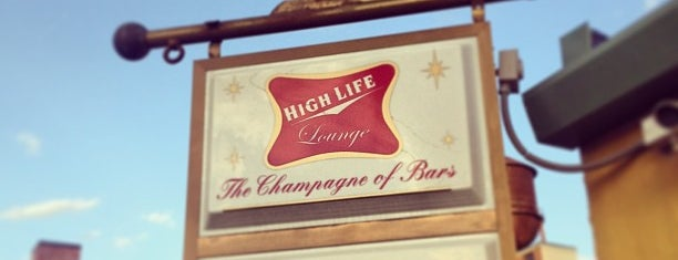 High Life Lounge is one of Drew's favorites.