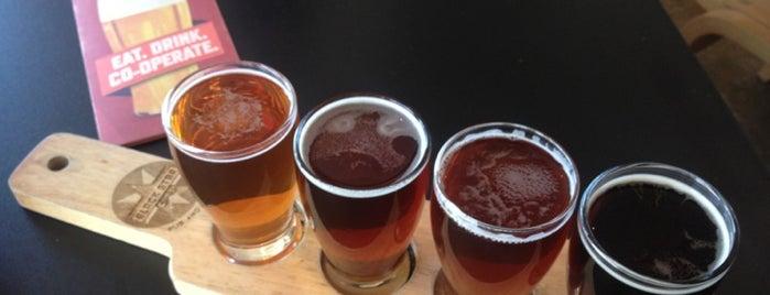 Black Star Co-op Pub & Brewery is one of Burket's Texas Visit.