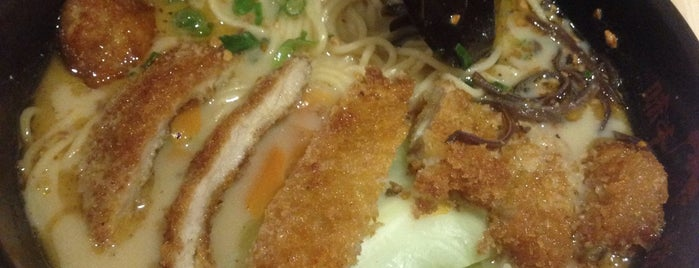 Ajisen Ramen 味千拉面 is one of Locais curtidos por J..