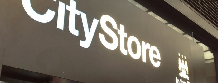 CityStore in the City is one of England.