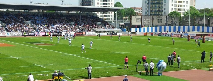 Stade Yves du Manoir is one of Top Olympic Stadiums.