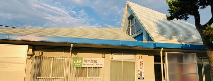 Nezugaseki Station is one of JR 미나미토호쿠지방역 (JR 南東北地方の駅).