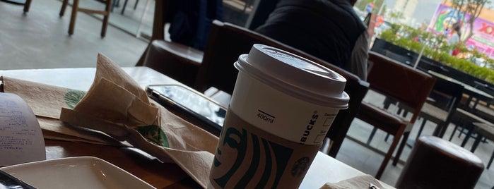 Starbucks is one of Fatima 님이 좋아한 장소.
