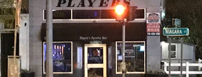 Player's Sports Bar is one of สถานที่ที่บันทึกไว้ของ Steve.