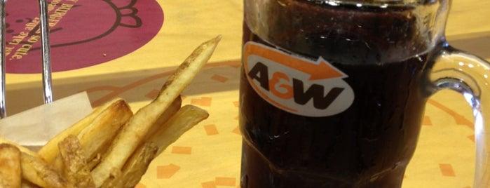 A&W is one of Massiel : понравившиеся места.