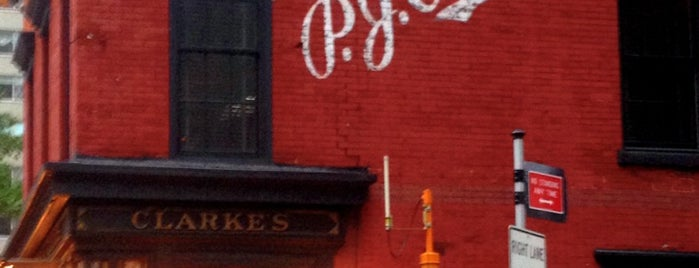 P.J. Clarke's is one of NYC.