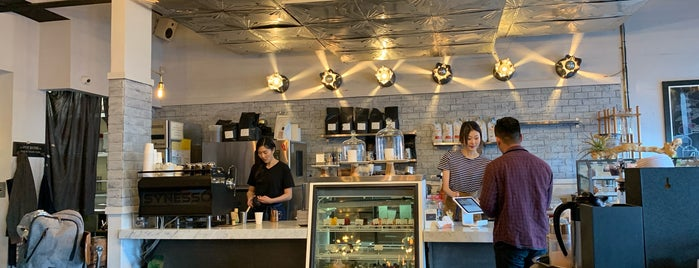 Alchemist Coffee Project is one of LA Coffee Shops Offering Free Wi-Fi.